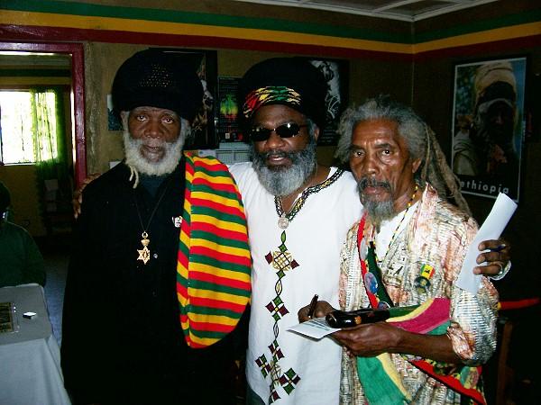 LEFT: Bongo Rocki, Binghi Wayne and Bongo Negus
