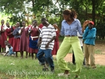 Highlight for Album: Cultural Exchange in Bungoma Village