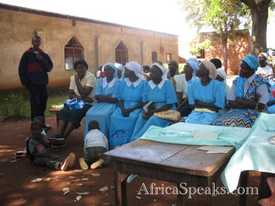 Faraha Women's Action Group - an organization that depends on the Adventist Church