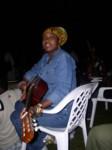 Sharlene on the guitar