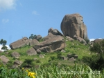 One of the Rock Parks we visited - Mwibale Rock Hill