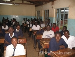 Highlight for Album: Visit to Nyangori Boys Secondary Boarding School