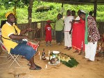 Singing songs for the ancestors