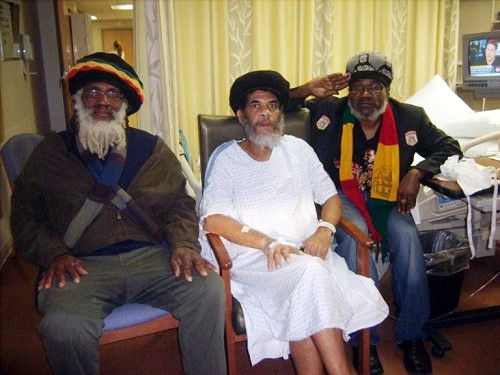 LEFT: Baba Ras  Marcus, Ras Iyapert and Dejazmatch Iyarge
