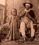 Menelik with child