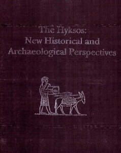 The hyksos : new historical and archeological perspectives, 'proceedings of the international seminar on cultural interconnections in the ancient near east, held for 16 consecutive weeks at the university of pennsylvania museum of archaelogy and anthropology during the spring term, January-april 1992, published 1997.