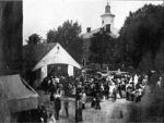 Slave sale in Easton, Maryland