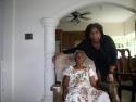 Sister Amanda with grandma