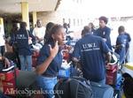 At Jomo Kenyatta Airport, Kenya