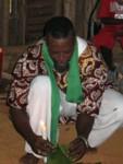 Preparing the offering