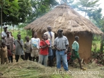 Highlight for Album: Building a Traditional Hut