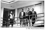 A day before King's assassination. April 3, 1968.